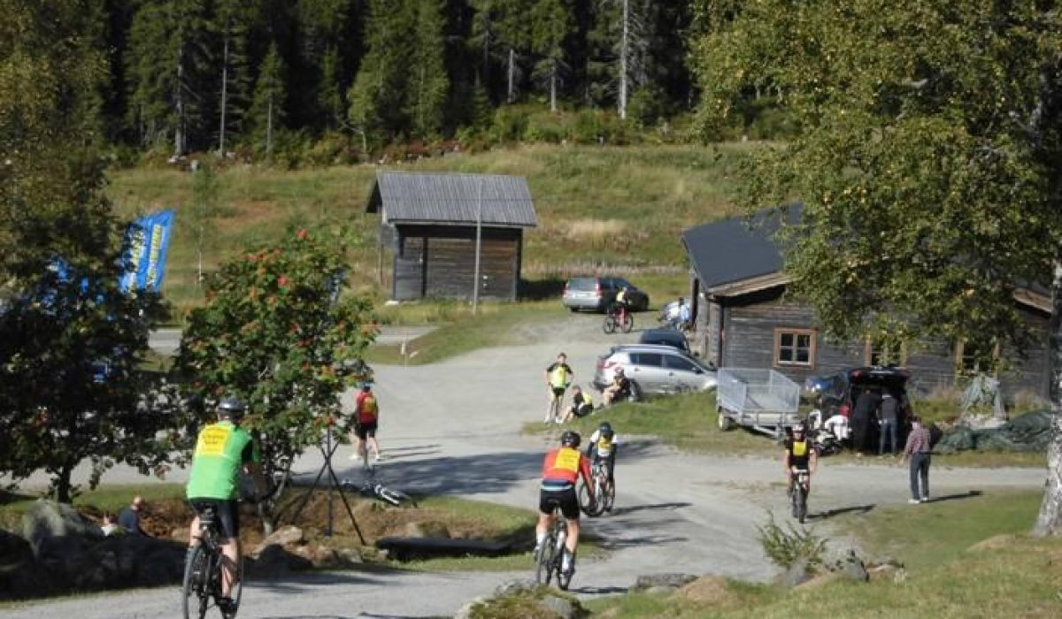 Cyklister i Mattila