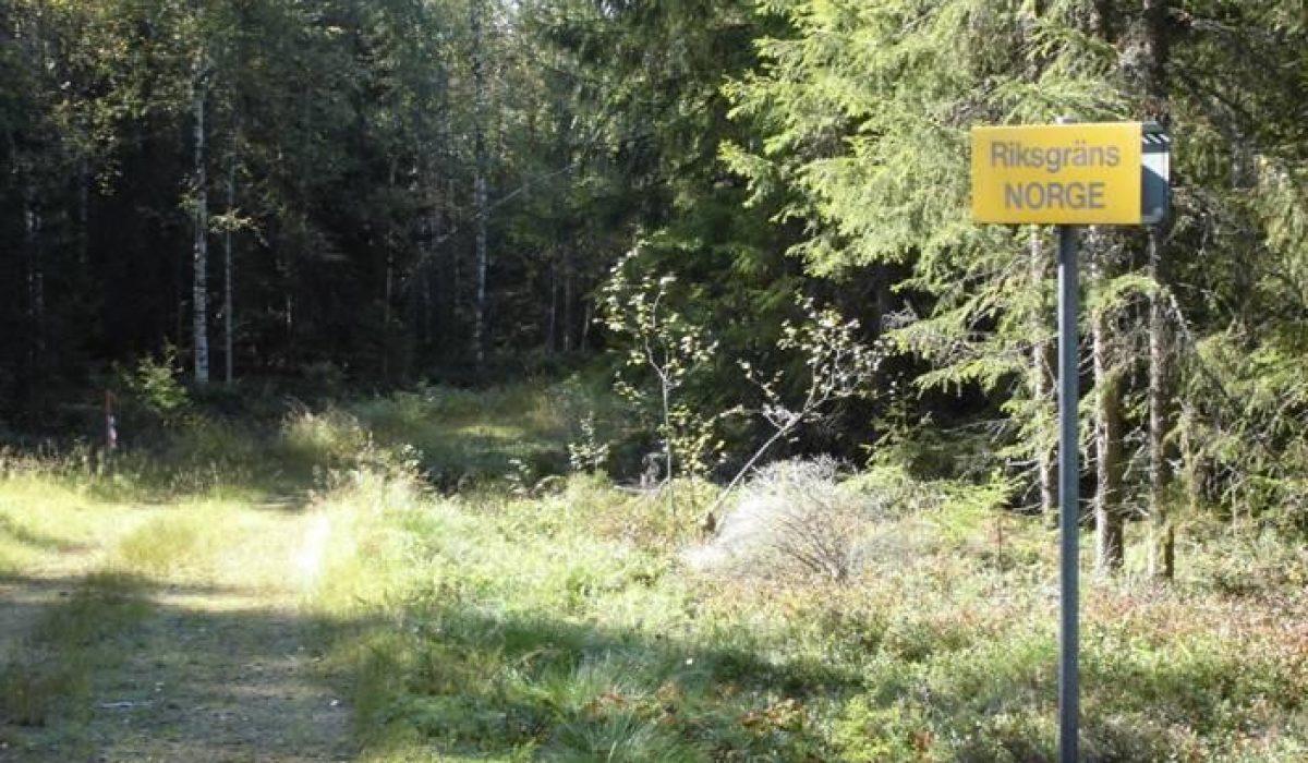 "Skyld ""Riksgräns Norge"" vid gränsen"