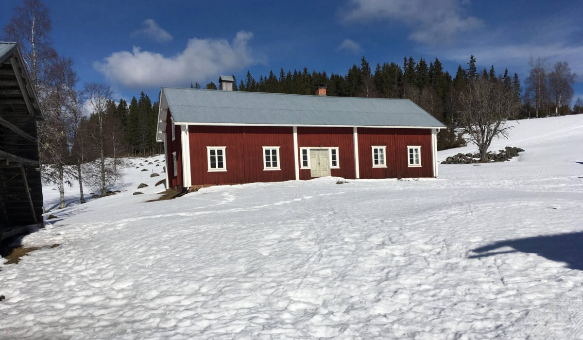Johula på vintern