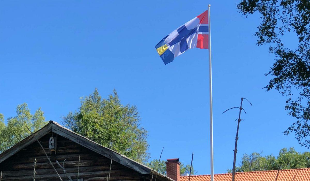 Flagga Mattila