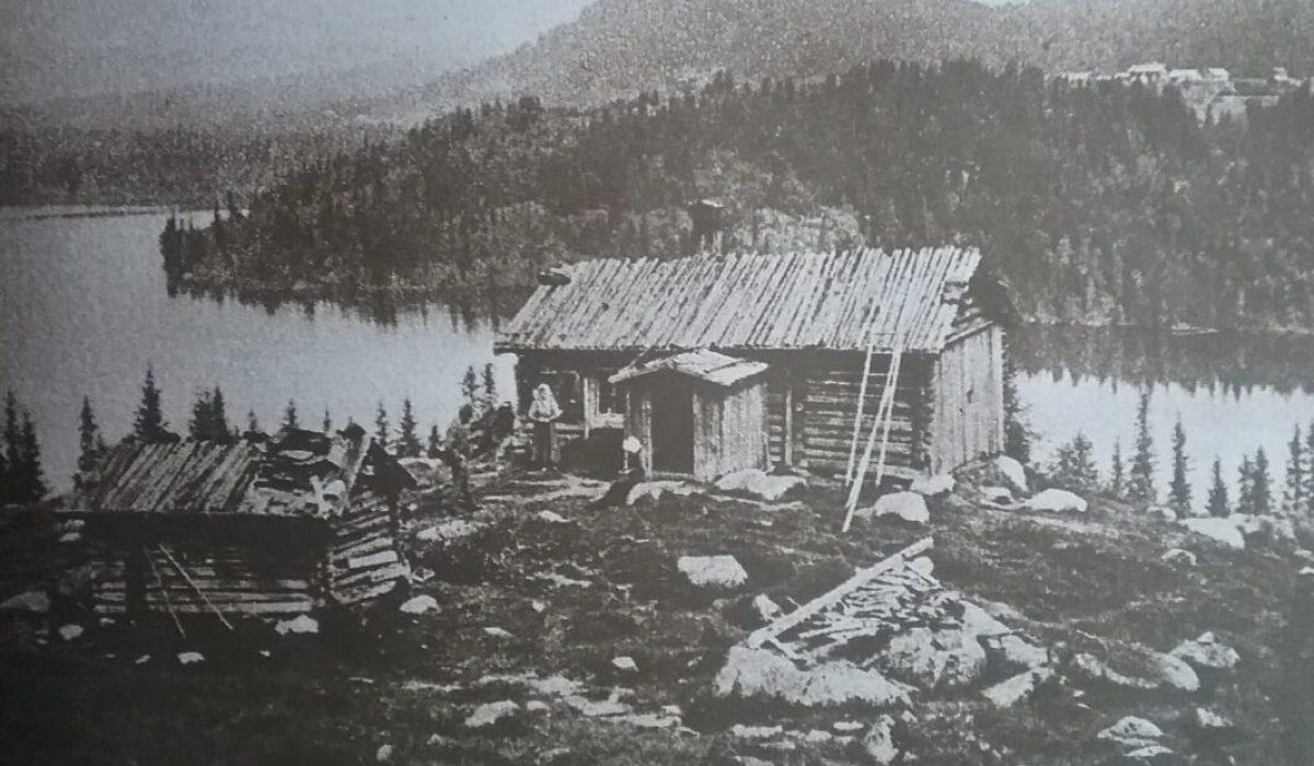Gammal bild Röjden/Purala